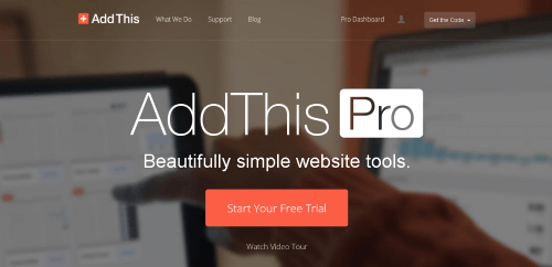 Addthis Pro the New way of Sharing effectively and Beautifully