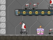 Play Robot Cake Defender Shooting Games
