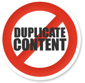 Avoid reposting entire article to avoid duplicate content jargon for search engines