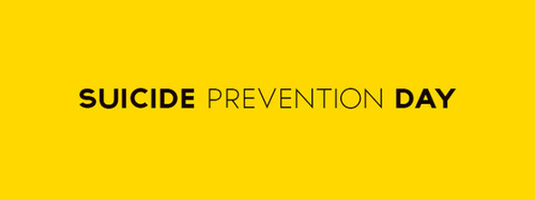 Today is World Suicide Prevention Day , 10th September