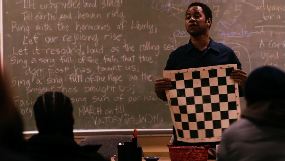 Eugene Brown trying to teach students how to make better choices in life using chess | life of a king 2014 movie review | motivational movies
