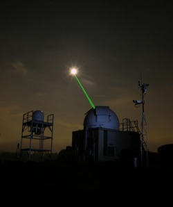 The Beacon sending the data using the laser transmission via the OPAL experiment | Nasa