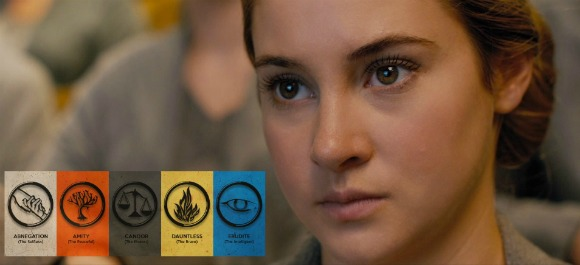 Beatrice on her way to becoming a Dauntless to hide herself as a Divergent 2014 | movie review and recommendations via geniusknight.com Tris