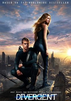 Today I watched the Divergent (2014) | Review storyline via movie waters recommendations | adventure and action movies