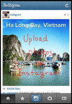 Upload Photos to Instagram
