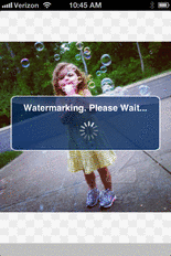 Add a custom watermark to your Instagram Photos