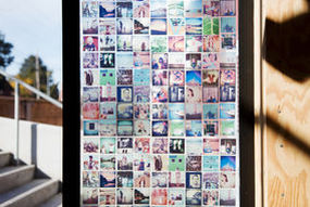Make a Stained Glass Window Cover with Instagram Photos